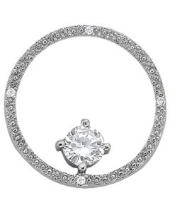 Pendants - 14K White Gold - Fashion - Style 31569