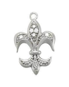 Pendants - 14K White Gold - Novelty - Style 32187