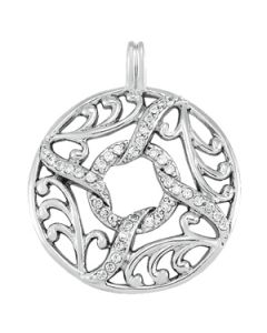 Pendants - 14K White Gold - Fashion - Style 32250