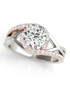 Engagement Ring - Bypass - Style 50911-E