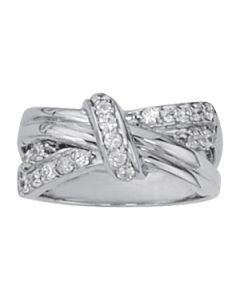 Diamond Fashion - 14K White Gold - Fashion Rings - Style 82348