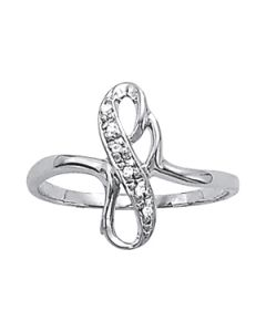 Diamond Fashion - 14K White Gold - Fashion Rings - Style 82461