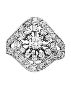 Diamond Fashion - 14K White Gold - Style 82490