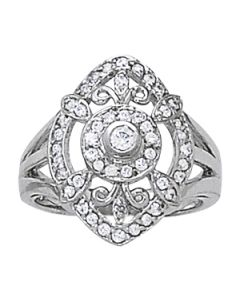 Diamond Fashion - 14K White Gold - Style 82491