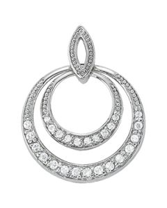 Pendants - 14K White Gold - Fashion - Style 31527