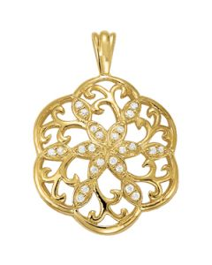 Pendants - 14K Yellow Gold - Fashion - Style 31956