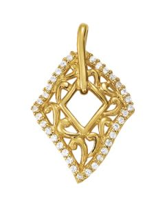 Pendants - 14K Yellow Gold - Fashion - Style 31968