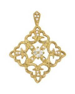 Pendants - 14K Yellow Gold - Fashion - Style 31974