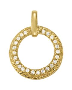 Pendants - 14K Yellow Gold - Fashion - Style 31984