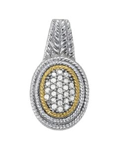 Pendants - Two Tone - Cluster - Style 32121