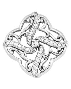 Pendants - 14K White Gold - Fashion - Style 32253