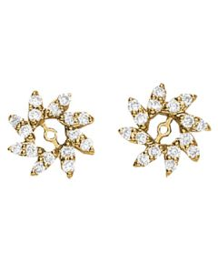 Earrings - 14K Yellow Gold - Jackets - Style 40084