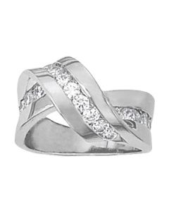 Diamond Fashion - 14K White Gold - Fashion Rings - Style 82325