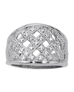 Diamond Fashion - 14K White Gold - Fashion Rings - Style 82353