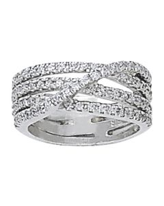 Diamond Fashion - 14K White Gold - Fashion Rings - Style 82626